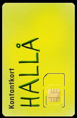 Default alt Halebop Kontantkort Hallå - Halebop