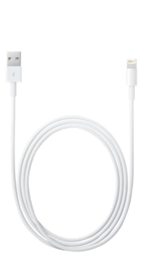 Apple Lightning-till-USB-kabel 1m