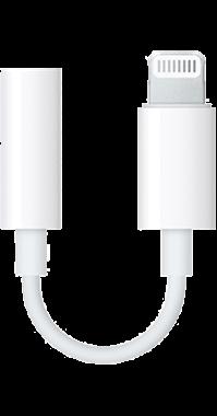 Apple Lightning till 3,5mm adapter för hörlurar