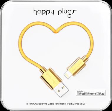 Happy Plugs Lightning till usb-kabel 2,0 m