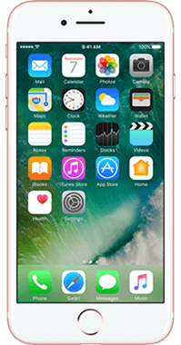 Apple iPhone 7 32GB med Acton