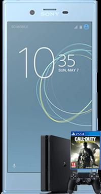Xperia XZs med PS4 och COD