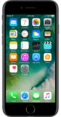 Apple iPhone 7 128GB med Acton