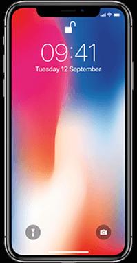Apple iPhone X 64GB med Audio Pro T3