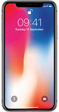 Apple iPhone X 256GB med Audio Pro T3