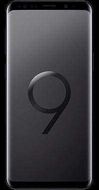 Samsung Galaxy S9 med Audio Pro T3