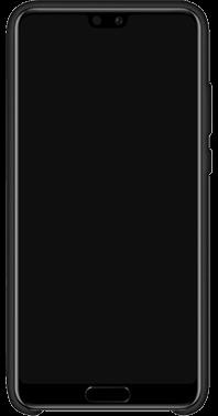 Silicon Cover P20 Black