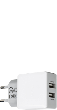 Xqisit Dual usb Travel Charger 3,4A