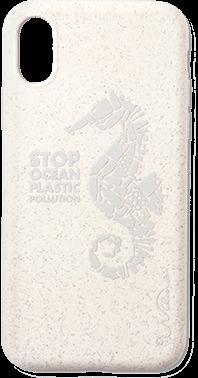 Stop Plastic Seahorse iPhone X/Xs