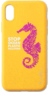 Stop Plastic Seahorse iPhone XR