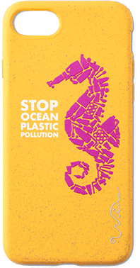 Stop Plastic Seahorse iPhone 6/6S/7/8