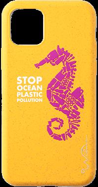 Wilma Stop Plastic Seahorse iPhone 11