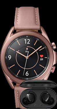 Samsung Watch 3 41mm med Buds+