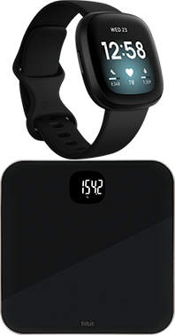 Fitbit Versa 3 och Aria Air SmartScale